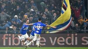 Gabbiadini Genoa Sampdoria