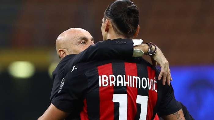 Stefano Pioli Zlatan Ibrahimovic Milan