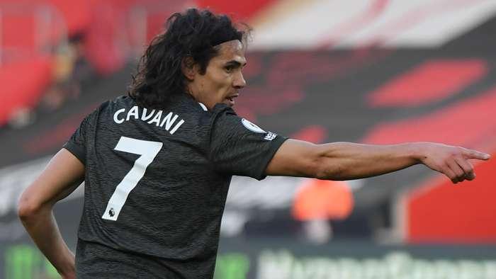 Edinson Cavani Man Utd 2020-21