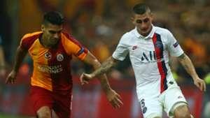 Radamel Falcao Marco Verratti Galatasaray PSG UCL 10022019