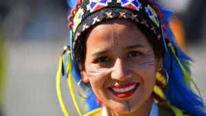 美女サポワールドカップ_セネガルvsコロンビア_コロンビア2
