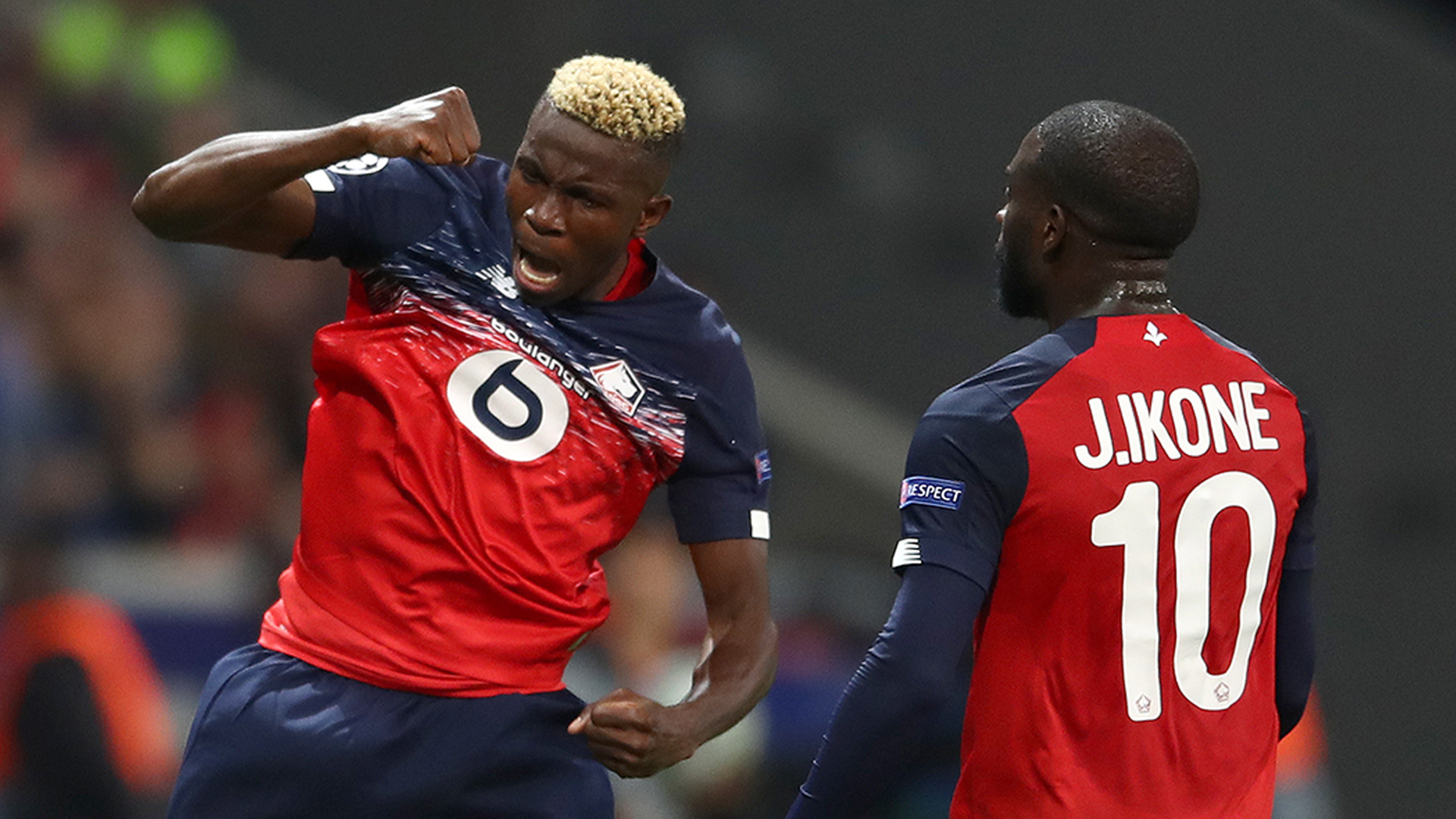 'Osimhen is like Aubameyang and obsessed with goals like Cavani' - Lille coach Galtier