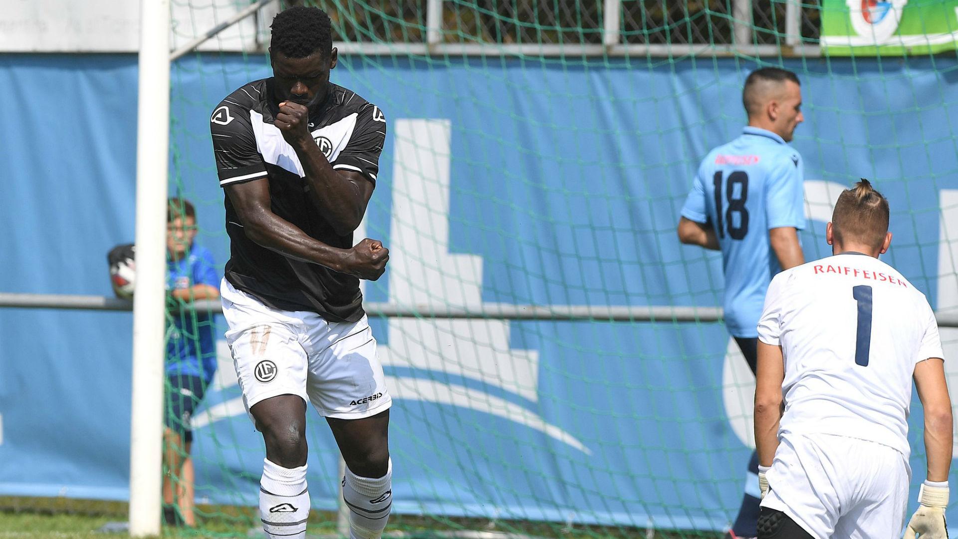 Sasere breaks Lugano duck in 9-0 obliteration of AC Sementina