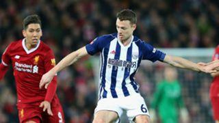 Jonny Evans Roberto Firmino West Brom Liverpool FA Cup