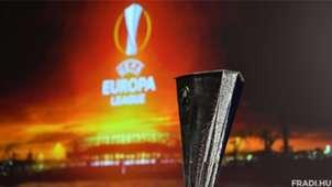 Europa League draw trophy