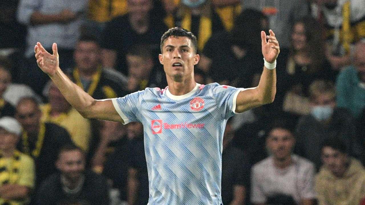 Cristiano Ronaldo Young Boys Manchester United Champions League