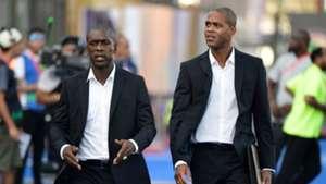 Clarence Seedorf, Patrick Kluivert - Cameroon