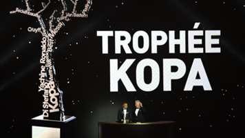 Kylian Mbappe wins Kopa Trophy