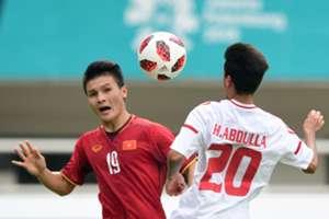 Nguyễn Quang Hải - Vietnam U23 : Asian Games 2018