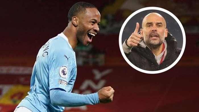 Raheem Sterling Pep Guardiola