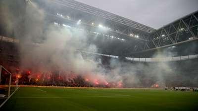 Turk Telekom Stadium Galatasaray training 03162018