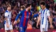 Lionel Messi Barcelona Real Sociedad La Liga