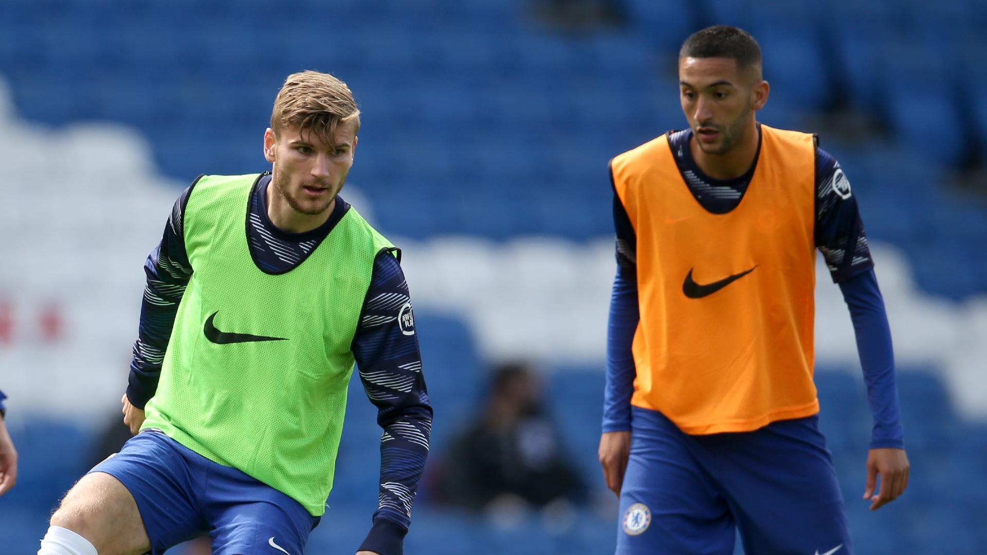 """Chelsea, Werner est ambitieux : """"Nous voulons lutter avec Man City et Liverpool"""""""