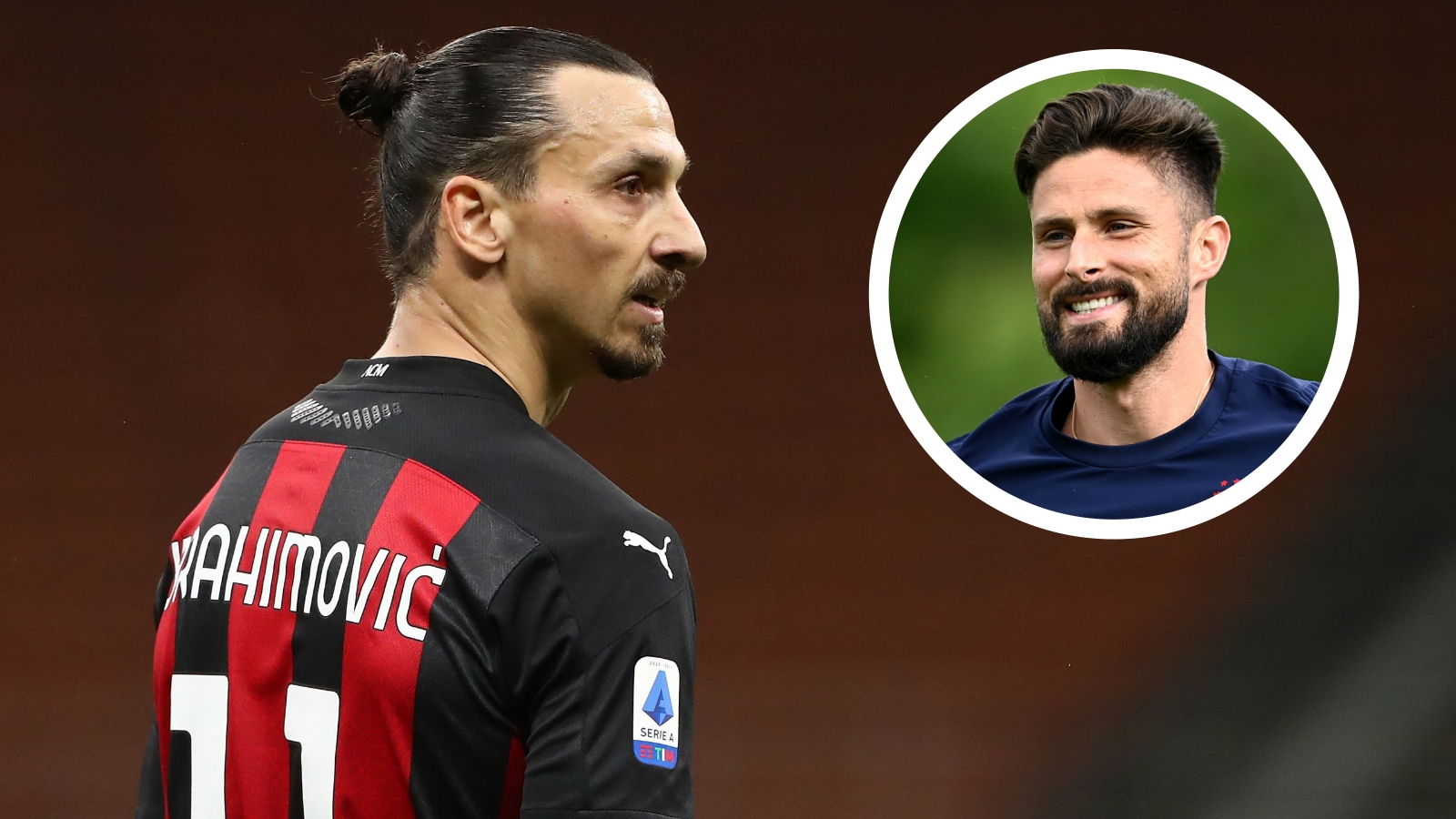 'There are many kings but there is only one god' - Ibrahimovic addresses Giroud's links to AC Milan