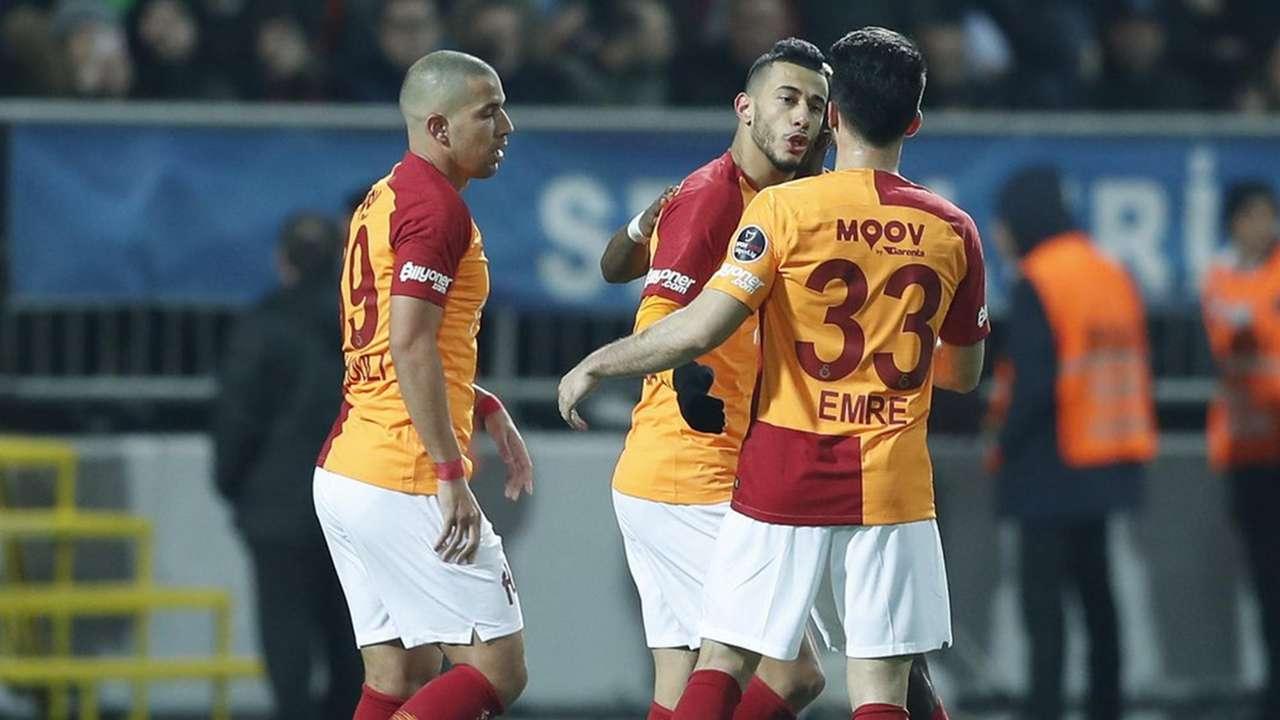 Sofiane Feghouli Younes Belhanda Galatasaray 2172019