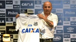 Jorge Sampaoli apresentação Santos 18122018