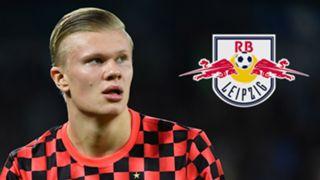 Erling Braut Haaland Red Bull Salzburg RB Leipzig