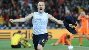 Andres Iniesta Spain World Cup 2010 final