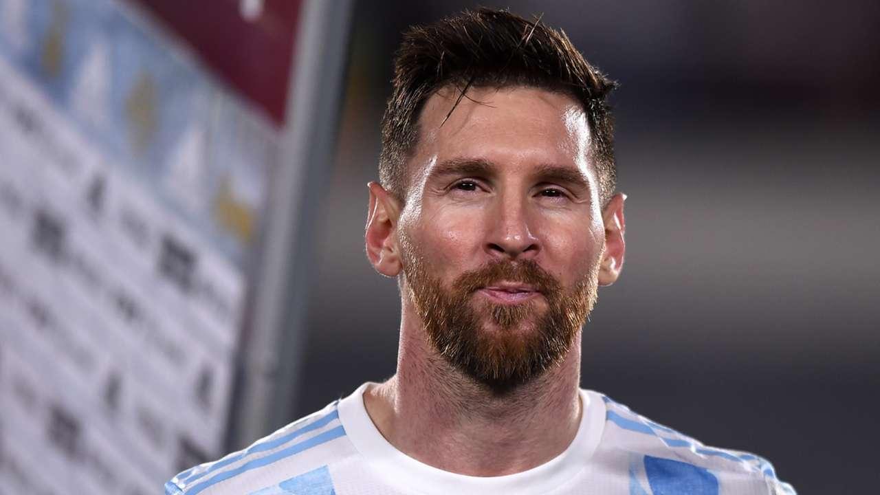Lionel Messi Argentina vs Uruguay 2022 World Cup qualifying