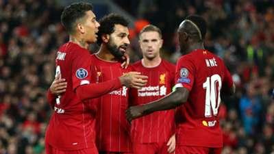 Firmino Salah Mane Liverpool 23 10 2019