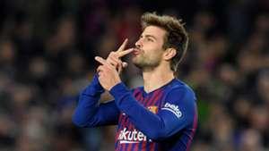 Gerard Pique Barcelona Villarreal La Liga