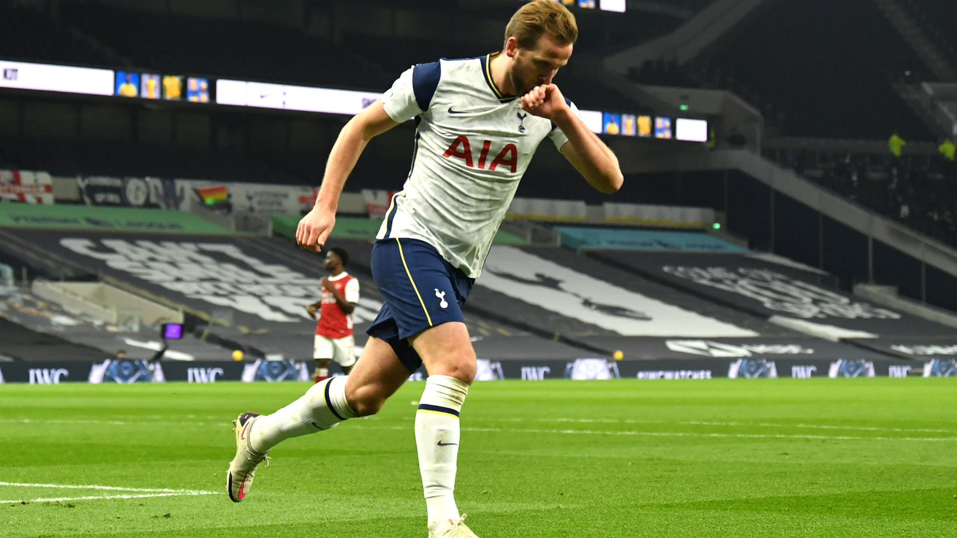 Kane Sets All Time North London Derby Scoring Record With Superb Strike For Tottenham Against Arsenal Goal Com