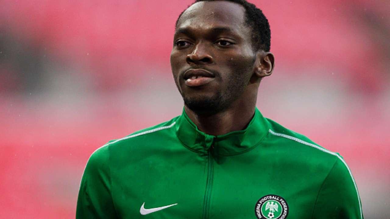 Simy Nwankwo Nigeria training Russia World Cup 2018