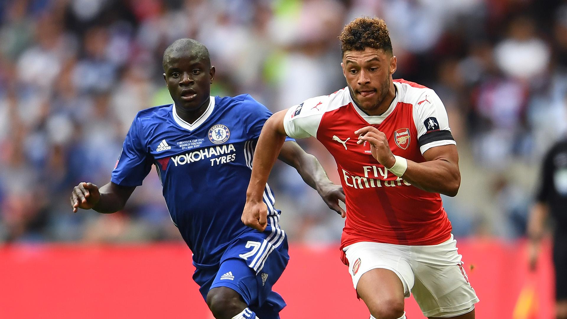 Alex Oxlade-Chamberlain Arsenal Chelsea FA Cup final