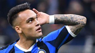 Lautaro Martinez Inter vs Juventus 2019-20