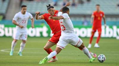 Gareth Bale Wales Switzerland Euro 2020