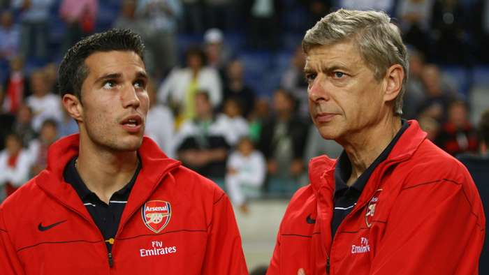 Robin van Persie, Arsene Wenger, Arsenal