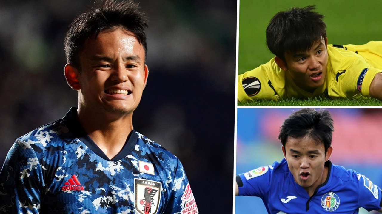 Take Kubo Japan Villarreal Getafe GFX
