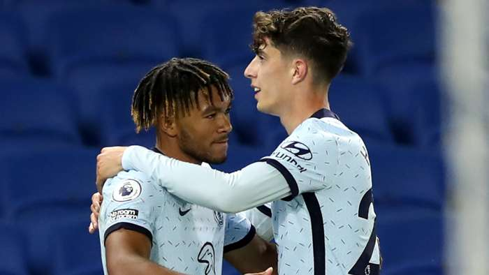 Reece James, Kai Havertz, Chelsea