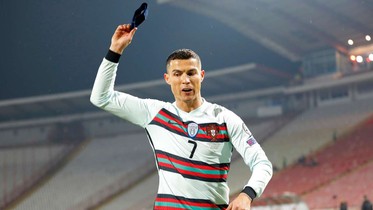 Cristiano Ronaldo Serbia Portugal