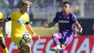 Giovanni Simeone, Fiorentina, Udinese, Serie A, 15102017