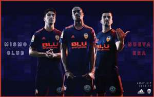 Valencia away kit