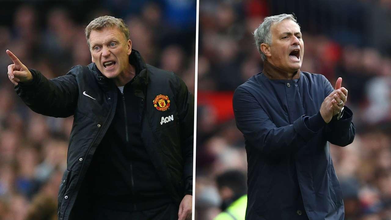 David Moyes, Jose Mourinho, Manchester United