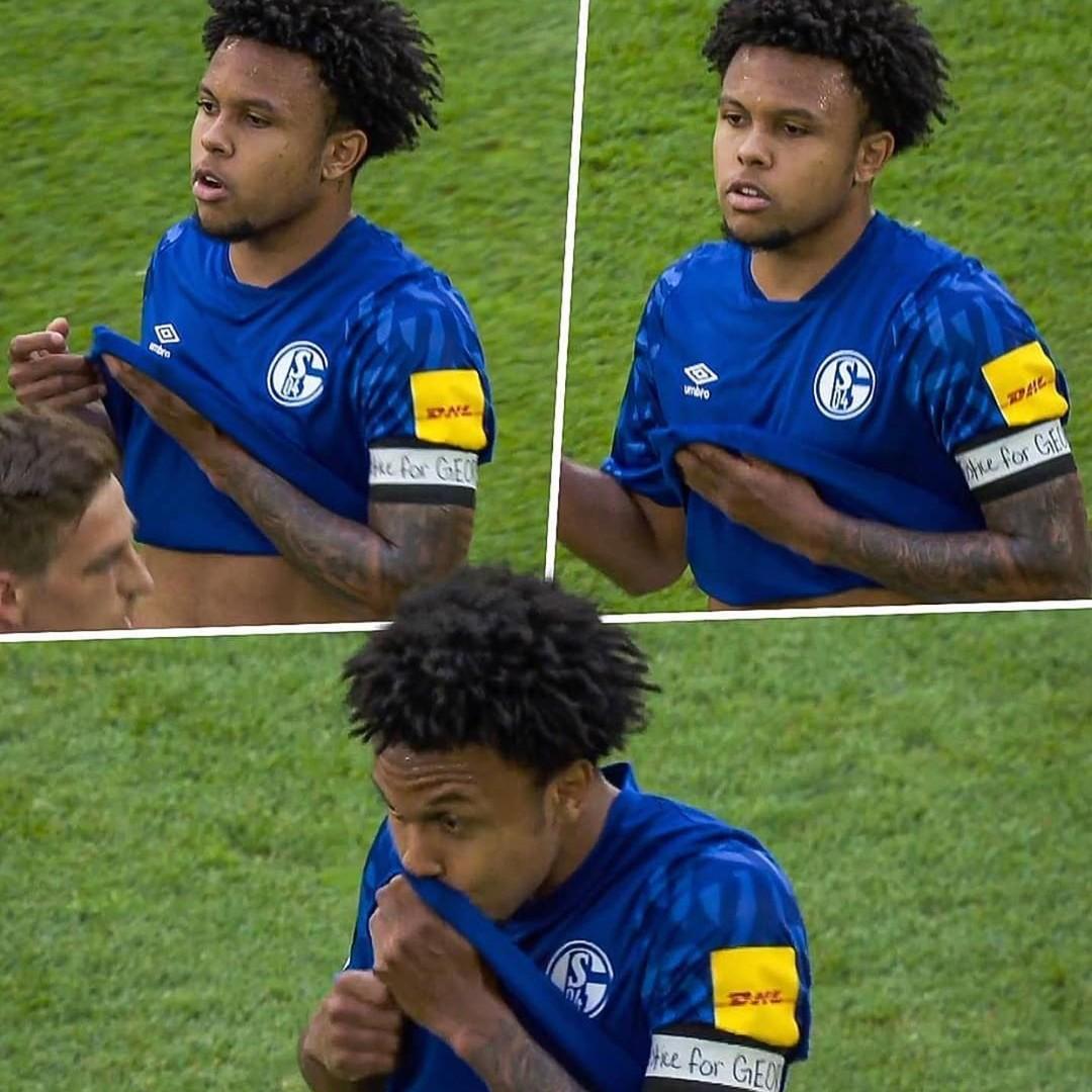 McKennie's George Floyd tribute took amazing courage, says Schalke team-mate Matondo