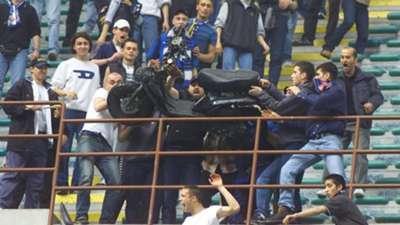Inter Atalanta fans motorino incident