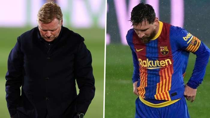 Ronald Koeman Lionel Messi Barcelona GFX