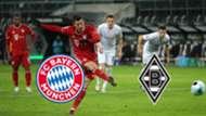 Bayern München Borussia Mönchengladbach Bundesliga 2021 TV LIVE-STREAM GFX