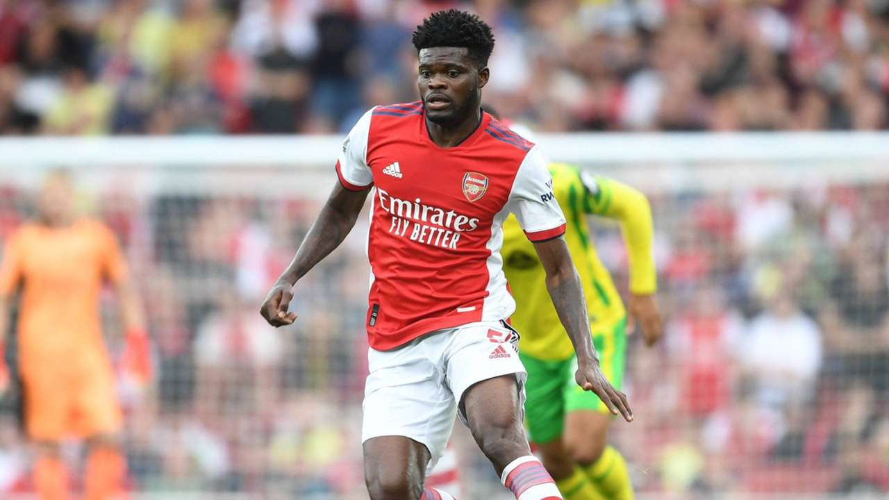 Arsenal midfielder Thomas Partey and Ghana.