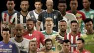 eLiga MX equipos y jugadores
