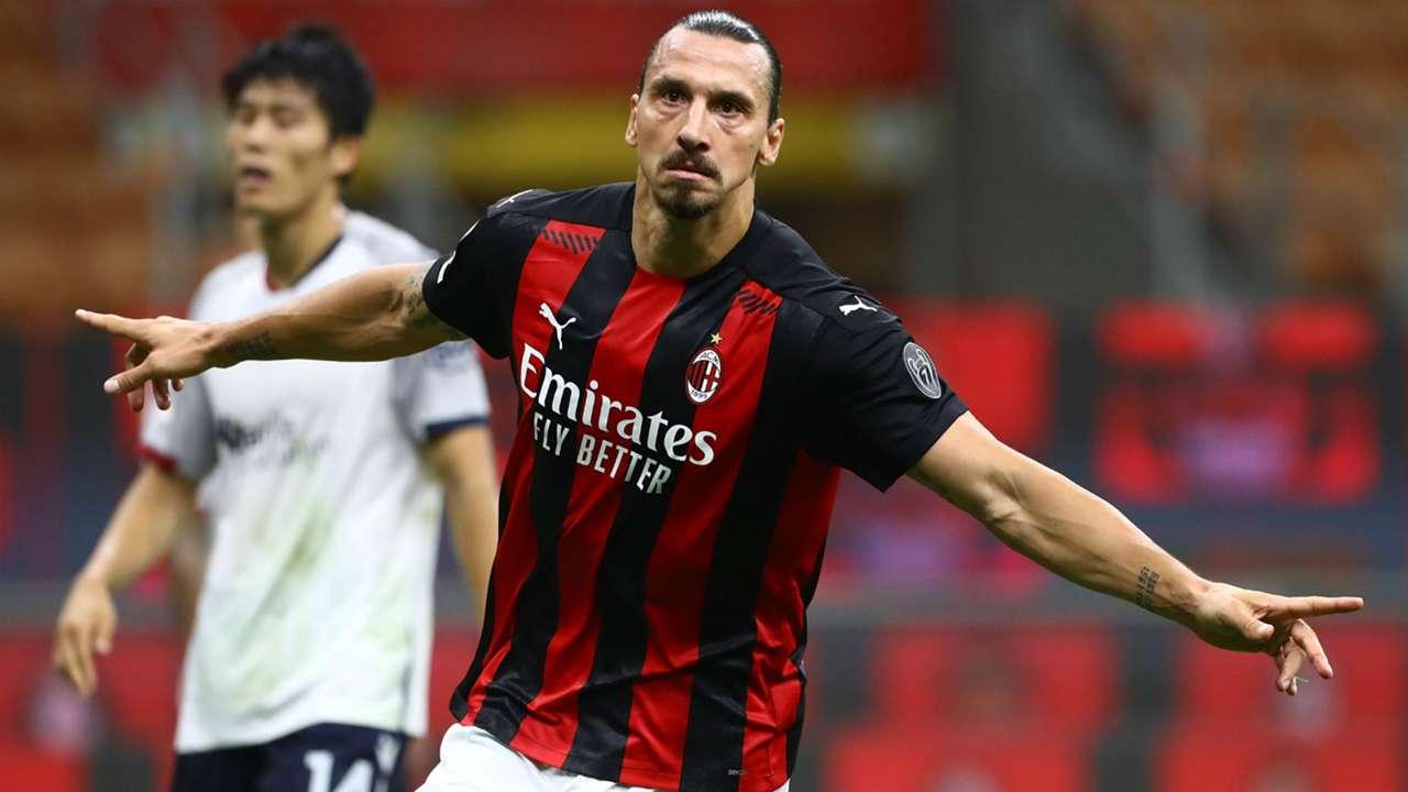Ibrahimovic Milan Bologna Serie A