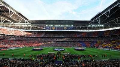 Wembley Stadium UCL final Man Utd Barcelona