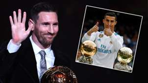 Lionel Messi Cristiano Ronaldo Ballon d'Or