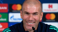 Zinedine Zidane Real Madrid 11252019