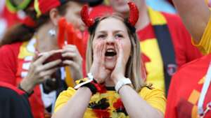 美女サポワールドカップ_ベルギーvsパナマ_ベルギー1