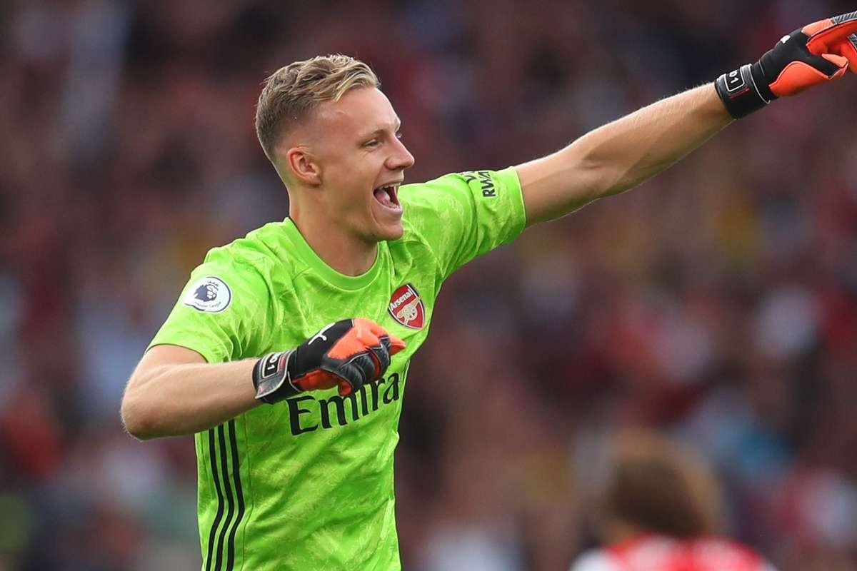 Bernd Leno Arsenal 2019/20