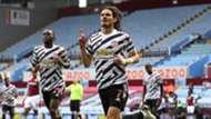 Edinson Cavani Aston Villa vs Man Utd Premier League 2020-21